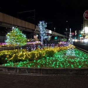 2019 Nagamachiイルミネーション(長町駅西口広場)