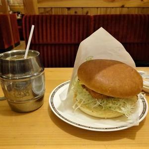 コメダ珈琲店 仙台富沢店 - 7 フィッシュフライバーガー