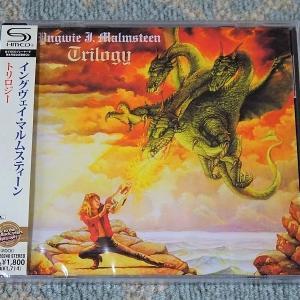 トリロジーのSHM-CDを購入(イングヴェイ・マルムスティーン)