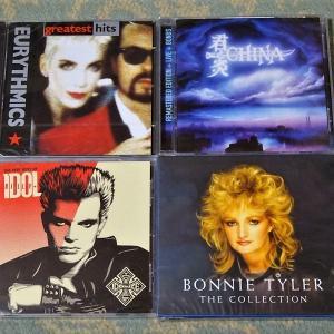 HMV通販でCDをまとめ買い(ビリー・アイドル、チャイナ、ボニー・タイラー、ユーリズミックス)