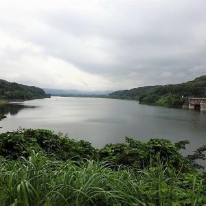 釜房ダム~谷山温泉をドライブ