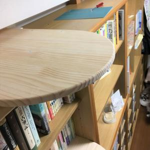 本棚キャットウォークの改良。