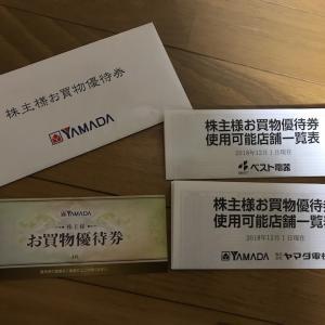 株主優待 (9831)株式会社ヤマダ電機