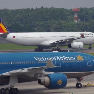 フィリピン航空とベトナム航空のエアバスA330