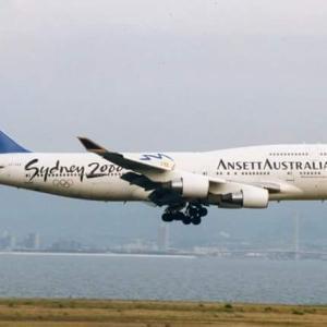 アンセットオーストラリア航空 ボーイング747-400