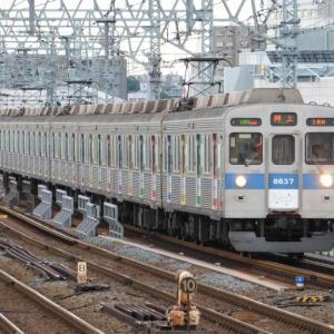 二子玉川駅で撮影