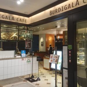 BURDIGALA CAFE  モンブランとブレンドティ