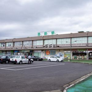 酒田方面撮影旅行 その30 JR酒田駅展示の浮世絵「酒田十景」
