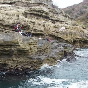 西伊豆・堂ヶ島の釣り人達