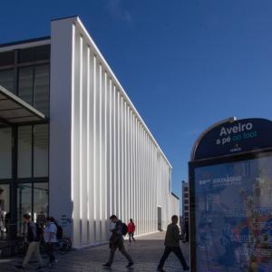 ポルトガルの旅 その20 ポルトガルのヴェネチア・アベイロ旧駅舎のアズレージョ