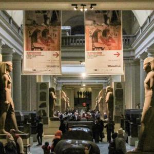 エジプト紀行  その95 エジプト考古学博物館最終回