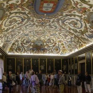 ポルトガルの旅 その28 コインブラ大学(旧大学)の個人試験の間