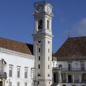 ポルトガルの旅 その30 コインブラ大学(旧大学)の2つの中庭