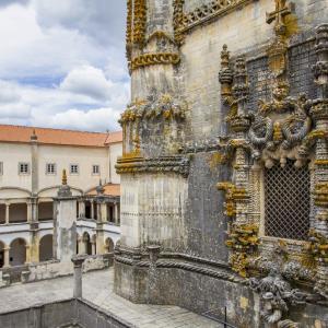 ポルトガルの旅 その44 トマールの世界遺産・キリスト修道院のマヌエル様式の窓