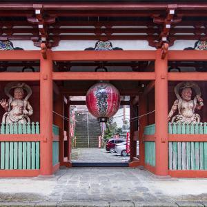 栃木市 岩船山高勝寺で初詣 その2 仁王門の蟇股の彫刻
