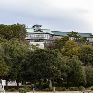 4つのクラシックホテルを巡るフルムーン旅 その29 蒲郡クラシックホテル周辺散策-竹島橋の上で