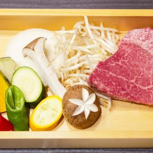とちぎ和牛オイル焼(ステーキ)の会食