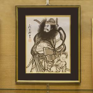 ホテルエピナール那須の下野の手工芸品展示コーナー
