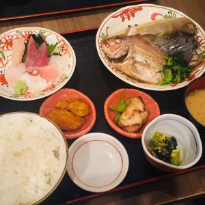 【金沢観光】「魚がし食堂」はディナーにもおすすめ!想像を超えるボリュームだった!