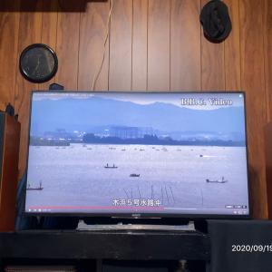 晴れ  琵琶湖は……混雑してるんやな