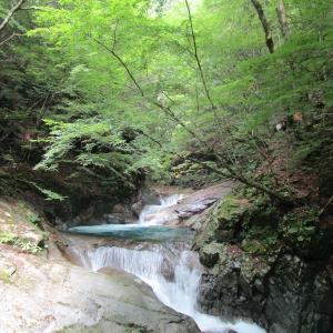 【車中泊旅行】西沢渓谷は涼しかったです