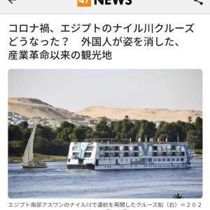 コロナ禍、エジプトのナイル川クルーズも客室数減らして運航