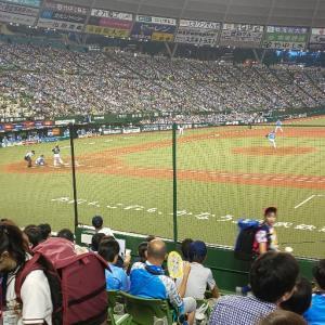 8月18日vsマリーンズ戦・好守備で守り切った勝利。k鈴木3勝目!