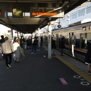 ◇【引退間近の琴電「レトロ電車」】JR神戸線で行く西宮神社「十日えべっさん」1/11(その5)◇