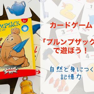 【プルンプザック】遊ぶだけで記憶力アップ!?