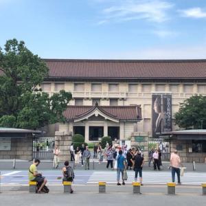 東京国立博物館に仏像を見に行く