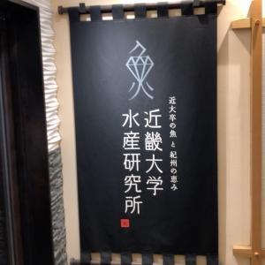 近畿大学水産研究所〜銀座ランチグルメ