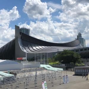 1964年東京オリンピックの図案の建物を見に行く③