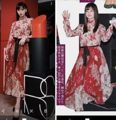 【悲報】橋本環奈、モデルの着こなしと残酷なまでに比較され、公開処刑!!(ノД`)・゜・。