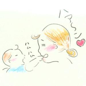 旦那が赤ちゃんの手にしゃぶりつく~妻の不満~