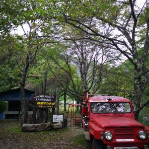 西湖キャンプ場テント村 キャンプレポ【前編】