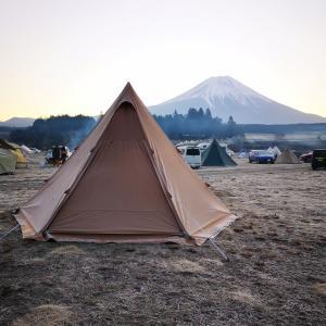 初めてのソロキャンプに挑戦④inふもとっぱら