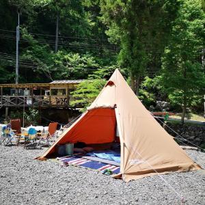 東京の山奥で久々のキャンプ【後編】