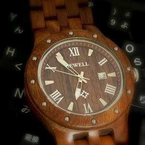 ■ Bewell (ビーウェル: ZS-109A)木製時計を手に入れてみた そして観察してみた