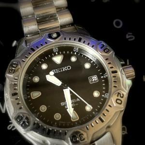 ■ SEIKO SCUBA 200m Air Diver's 7N35-6A50  1999年製