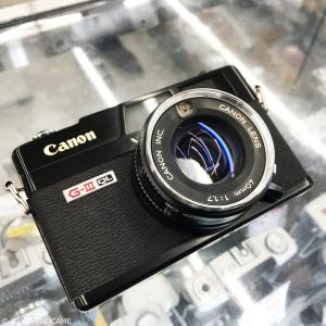 Canonet QL17 GIII Black 遂に購入