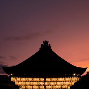 雨上がりの夕暮れ – 八坂神社( Nikon Z7II )