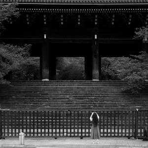 お散歩スナップ ー 知恩院、南禅寺(Nikon Z7 II)