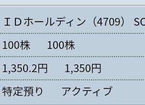 6月21日 先週の金曜日の株【買い1・売り1】