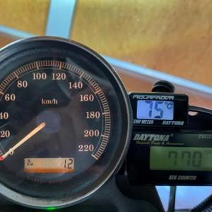 883R 油温計取付…後編 & オイルクーラー導入