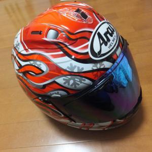 2021年からのヘルメット新調  ARAI・RX-7X HAGA【GPZ900R カスタム】