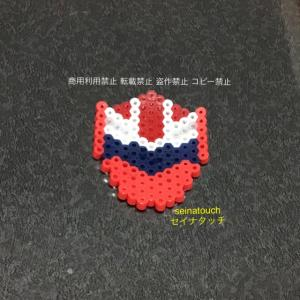 アイロンビーズ☆六角S★キラメイジャー レッド