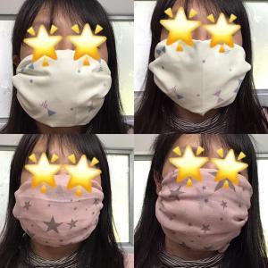 縫わない『ハンカチマスク』の作り方♪