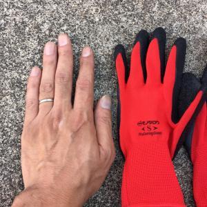 モノタロウの手袋のお話。