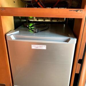 家庭用冷蔵庫上に、スイッチパネルを作ったのさっ。