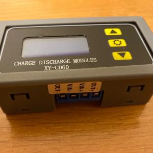 スーパーサブバッテリー用の充電コントロールモジュールが届きました。